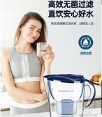 淨水器 凈水壺家用凈水器直飲濾水壺濾芯廚房自來水過濾器便攜凈水杯 快速出貨