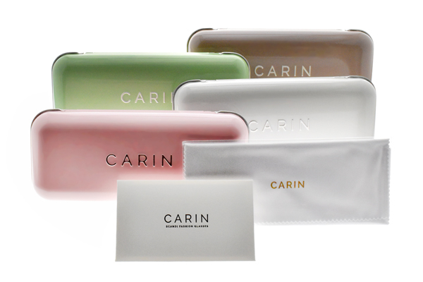 CARIN 光學眼鏡 TAIL-R C3 (槍-琥珀棕) 韓星秀智代言 質感簡約鏡框 # 金橘眼鏡