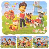 汪汪隊拼圖兒童益智玩具3-6-7歲寶寶智力平面男孩幼兒園紙質拼板(一件免運)