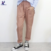 【秋冬新品】American Bluedeer - 斜口袋彈性長褲 二色
