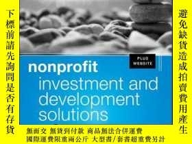 二手書博民逛書店Nonprofit罕見Investment and Development Solutions: A Guide