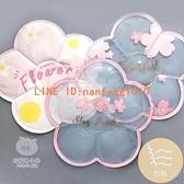 可愛創意粉色櫻花朵凝膠清涼冰坐墊夏季降溫韓版異形汽車水墊【白嶼家居】