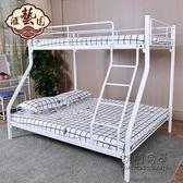 鐵床雙層床母子床鐵藝床雙人床高低床上下鋪 NMS 小明同學