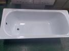 【麗室衛浴】BATHTUB WORLD 高級鋼板琺瑯浴缸 出清品 H-421 保溫效果佳 140*70*38CM