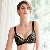 LADY 戀戀巴洛克系列 E-G罩 全罩無襯內衣 ( 華麗黑 )