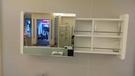 【麗室衛浴】多功能 左右置物 化妝鏡 尺寸:1200x150x500mm