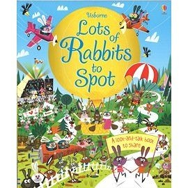 【麥克書店】LOTS OF RABBITS TO SPOT / a-look-and-talk book to share