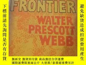 二手書博民逛書店the罕見great frontier by walter pr