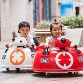 兒童車電動四輪童車帶遙控車寶寶電動車小孩玩具汽車可坐人摩托車 MBS 英雄聯盟