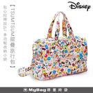 Deseno 旅行袋 迪士尼 TSUMTSUM摺疊旅行包  粉色 可摺疊收納 B1138-0002 MyBag得意時袋