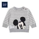 Gap男嬰兒童趣迪士尼圓領針織上衣527038-淺麻灰