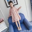 加絨洋裝 女童連身裙2020秋冬裝新款童裝韓版公主裙兒童小女孩長袖加絨裙子 小天使