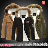 台灣現貨 鋪棉外套 情侶外套 防寒外套 加厚外套 棉外套 羽絨外套 毛領外套