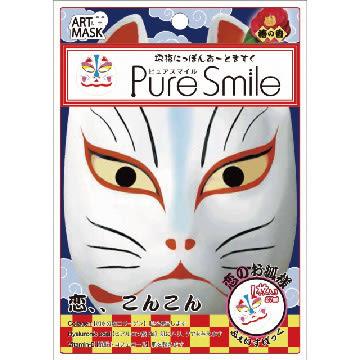 【Pure Smile】 日本招福面膜 戀愛 1枚入