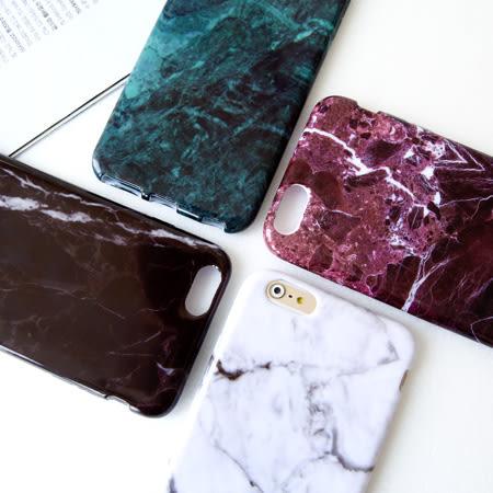 iPhone 6 6s Plus 簡約時尚大理石紋保護殼 爆裂紋 軟殼 手機殼 蘋果6 i6