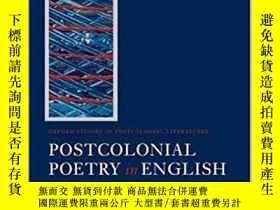 二手書博民逛書店Postcolonial罕見Poetry In EnglishY