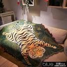 毛毯 毛毯被子老虎單人宿舍學生午睡沙發蓋毯蓋腿小毯子辦公室空調春秋