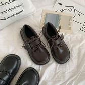 軟妹可愛小皮鞋日繫圓頭女學生百搭娃娃鞋平底學院風JK鞋子制服鞋 韓國時尚週