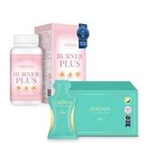 婕樂纖 雙纖體驗組(纖纖飲Plus1盒+爆纖錠1瓶)