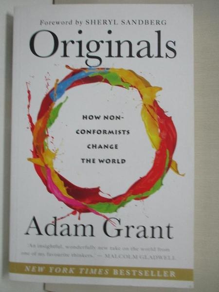 【書寶二手書T6/財經企管_DTU】Originals_Adam Grant