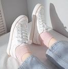 帆布鞋女新款小白板鞋