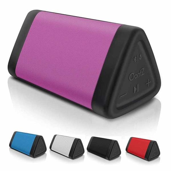 OontZ Angle 3藍牙揚聲器 IPX5防水 100英尺範圍 粉/紅/白/藍/黑 [2美國直購]