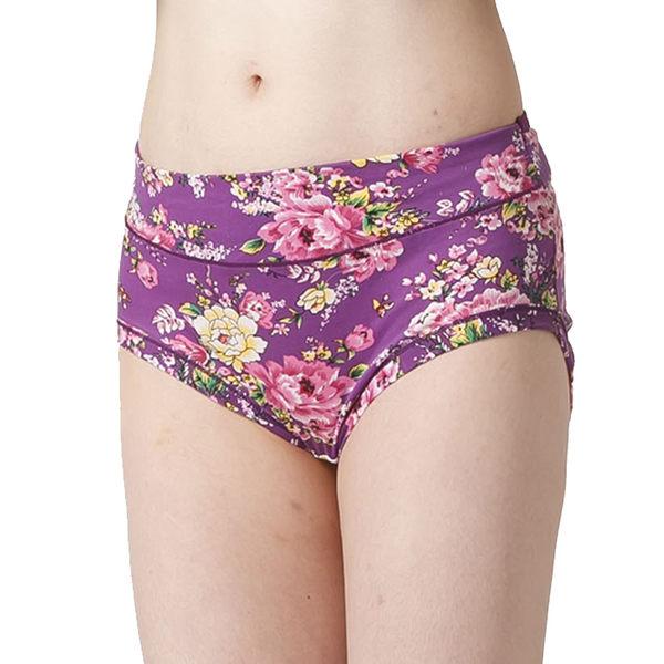彩漾 加寬玫瑰包臀內褲6件組3205-1 中大尺碼 三角褲  (隨機選色選款)