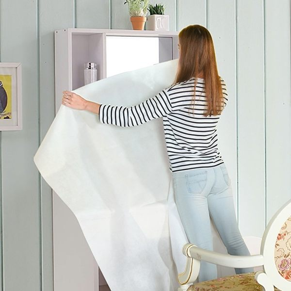 《簡單購》超大型可水洗不織布居家物品家具防塵布罩
