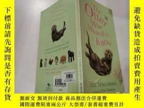 二手書博民逛書店the罕見otter who wanted to know:想知道的水獺Y200392 不祥 不祥