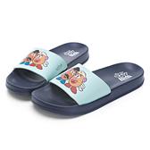 DISNEYTOY系列-蛋頭先生休閒拖鞋-藍-DW6166FF