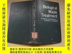 二手書博民逛書店Biological罕見Waste Treatment【生物廢物