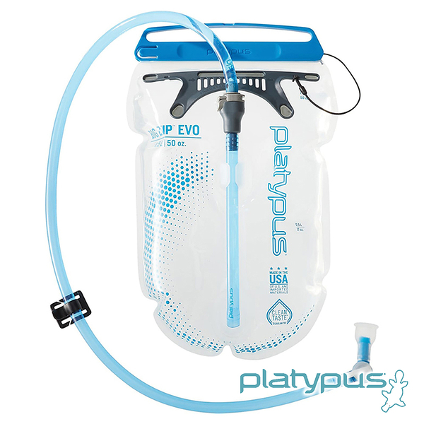 【Platypus】Big Zip EVO 大開口吸管水袋 1.5L 10859 水袋 吸管水袋 馬拉松 路跑 自行車 登山