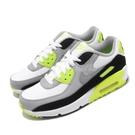 Nike 休閒鞋 Air Max 90 LTR GS 灰 黃 女鞋 大童鞋 運動鞋 【PUMP306】 CD6864-101