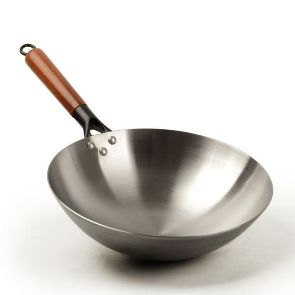 炒鍋 鐵鍋章丘鐵鍋手工老式炒鍋無涂層不粘家用炒菜鍋煤氣灶鍋