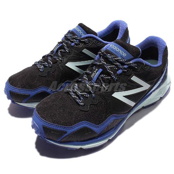 New Balance 越野慢跑鞋 NB 910 黑 藍 運動鞋 GORE-TEX 防水 戶外 登山 女鞋【PUMP306】 WT910GX3D