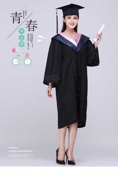 學位學士服批發畢業禮服定做大學生女學院風文工本科碩博士服帽袍 蘿莉新品