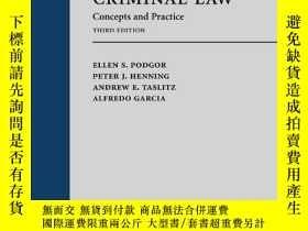 二手書博民逛書店Criminal罕見Law: Concepts And PracticeY256260 Ellen S. Po