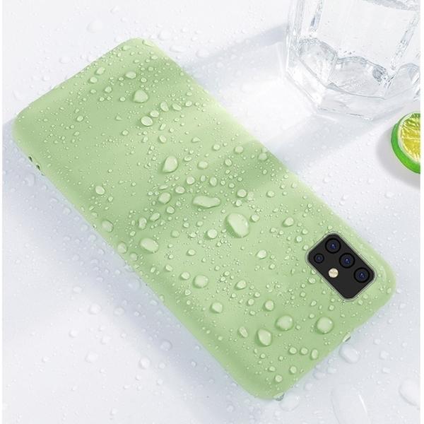OPPO A31 2020 A91 A72 Reno 4 Pro 全包邊手機軟殼 液態保護套 純色糖果色保護殼 矽膠套