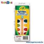 玩具反斗城 【Crayola 繪兒樂】 16色調色盤水彩