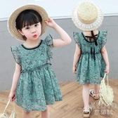 2020夏天洋裝女寶寶2夏裝5歲洋氣3小童1兒童公主裙子潮女童夏季 京都3C