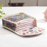 大容量姨媽巾收納包便攜迷你拉鍊衛生棉姨媽巾小方包衛生巾收納袋 萊俐亞