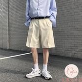 短褲男大碼夏季寬松五分褲直筒西褲男褲休閑褲外穿【大碼百分百】
