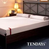 床墊-TENDAYs 6尺 雙人加大22cm厚-柔織舒壓記憶床墊