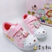 【樂樂童鞋】台灣製現角落小夥伴休閒鞋-粉色 B013 - 現貨 台灣製 女童鞋 休閒鞋 男童鞋 大童鞋