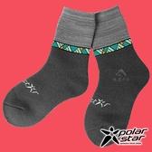 【PolarStar】保暖雪襪『暗灰』P18614 露營.戶外.登山.保暖襪.彈性襪.休閒襪.長筒襪.襪子.男版.女版