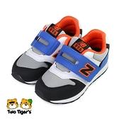 New Balance 996 魔鬼氈 運動鞋 小童鞋 灰藍 NO.R6585