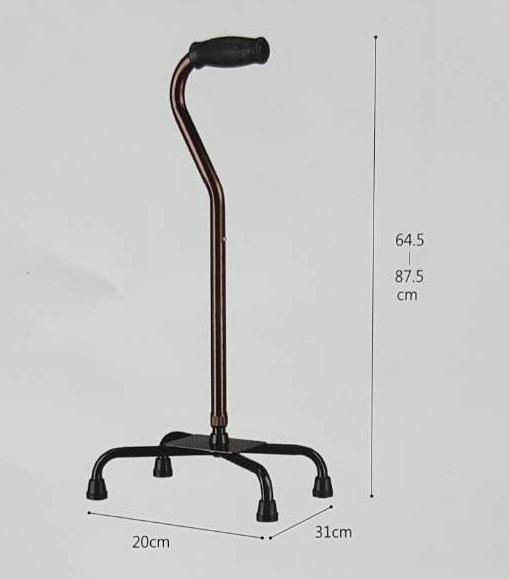 四腳鋁拐 5610-B (大,單支) 光星NOVA 醫療用手杖、拐杖