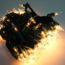 聖誕燈串-100燈清光樹燈(鎢絲燈-溫暖...