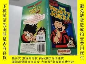 二手書博民逛書店the罕見worst jokes:最糟糕的笑話Y200392 不祥 不祥