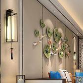 壁燈臥室房間客廳床頭現代簡約過道背景墻酒店工程仿古燈具 全館DF
